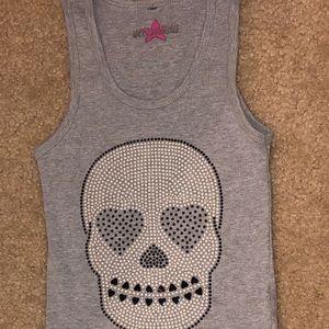 Girls Skull Tank